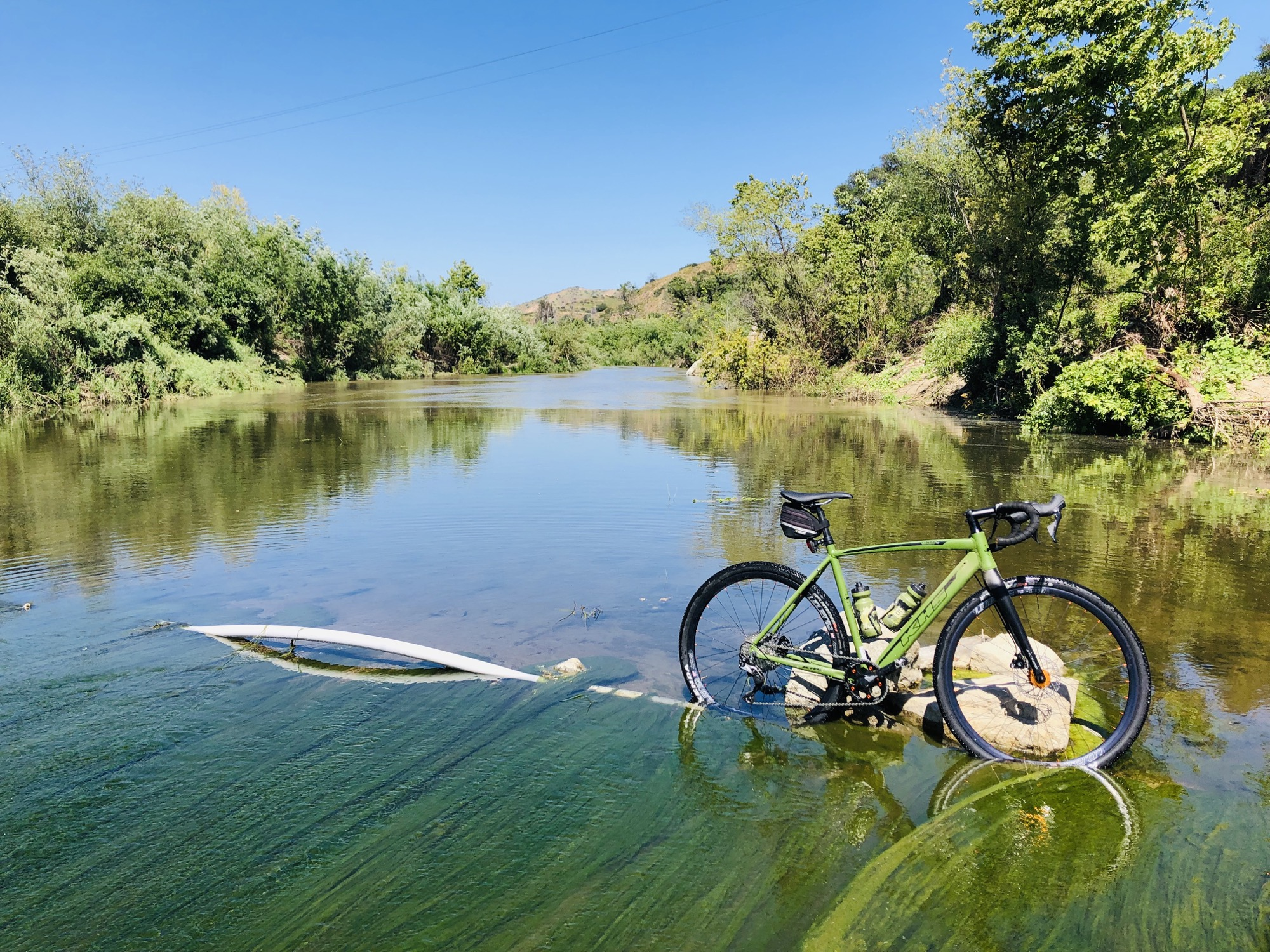 high water crossing