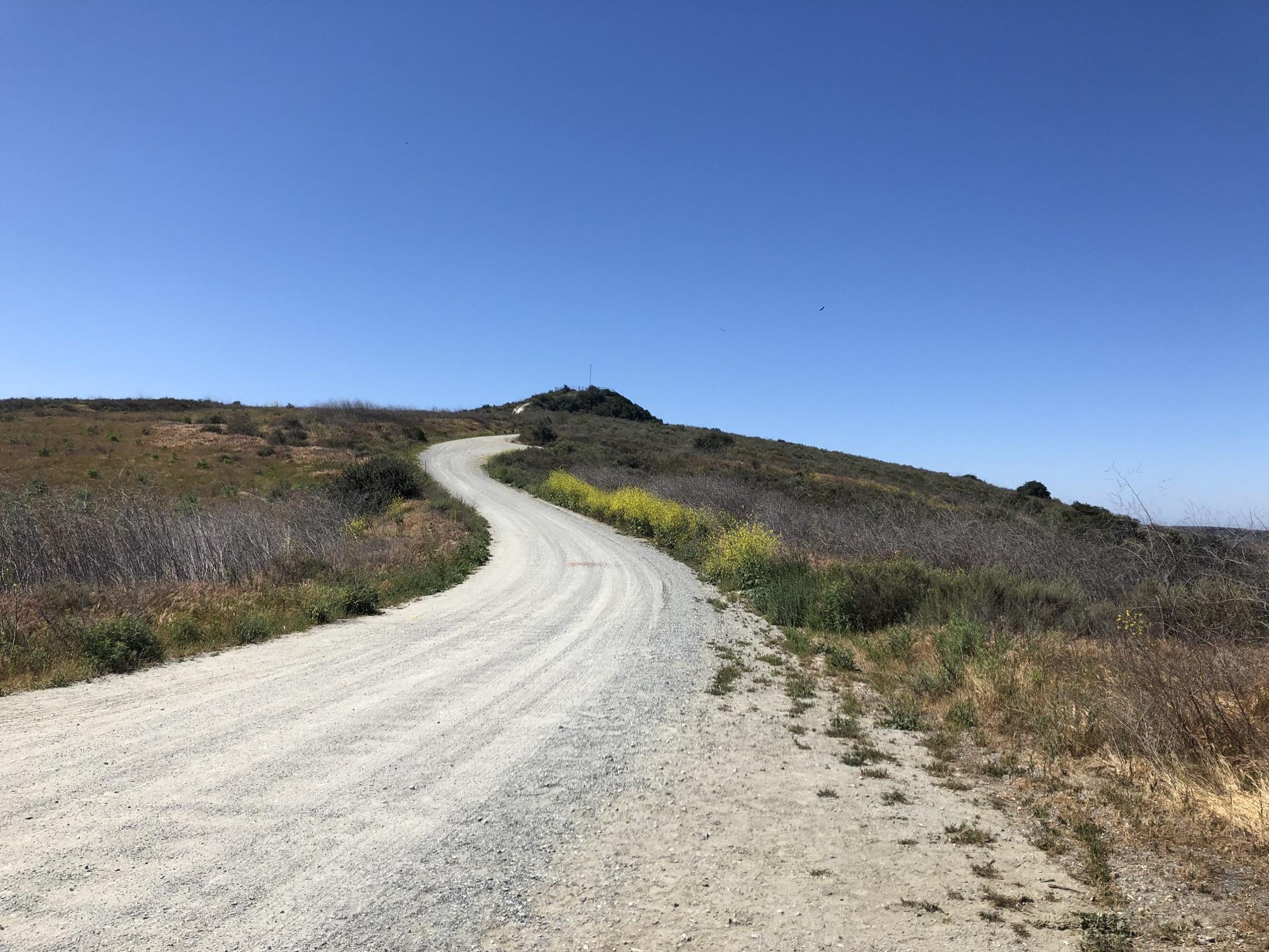 a lovely gravel road